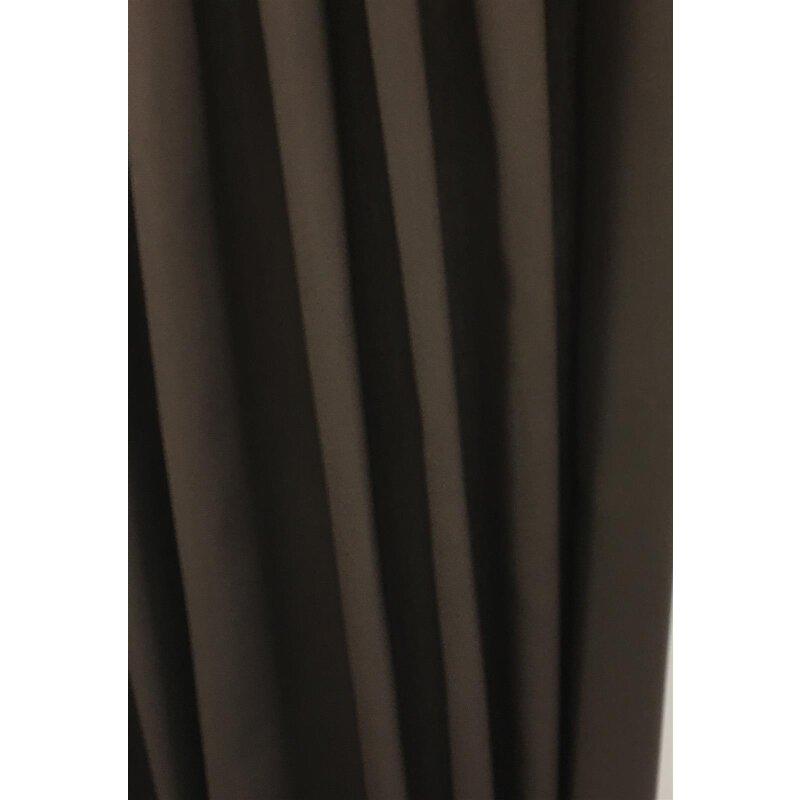 landhaus deko stoff vorhang innsbruck leinen optik braun blickdicht 19 95. Black Bedroom Furniture Sets. Home Design Ideas